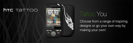 Сотовый телефон HTC Tattoo
