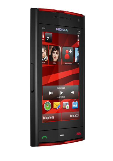сотовый телефон Nokia X6